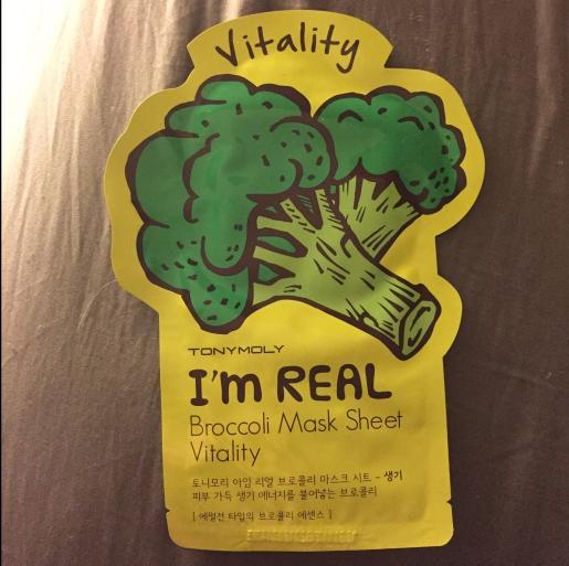 Review: Tony Moly I'm Real Broccoli Sheet Mask (Vitality)