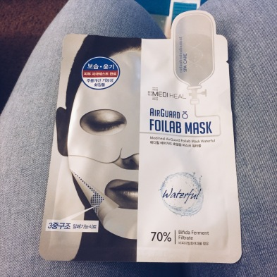 Mediheal Airguard Foilab Mask Silver Waterful