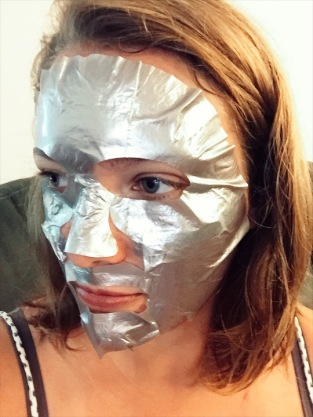 silver sheet mask