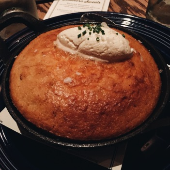 Cornbread at Yardbird Las Vegas